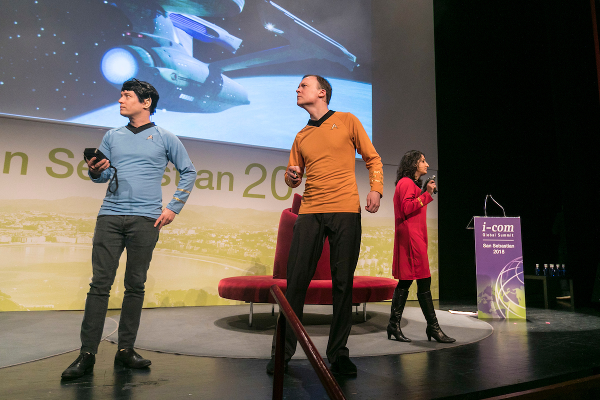 I-COM Global Summit 2018, San Sebastian
