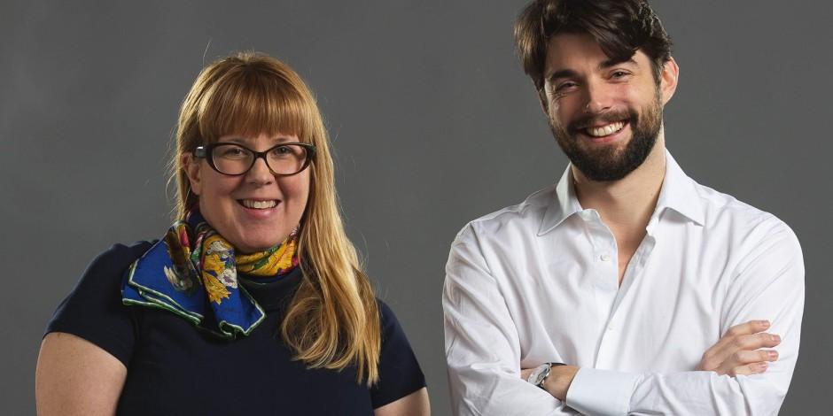 Ellen Zaleski and Thomas Minc