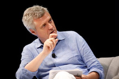 WPP chief executive Mark Read speaks on stage during WPP session at the Cannes Lions 2019  Credit: Richard Bord/Getty Images/Courtesy Cannes Lions