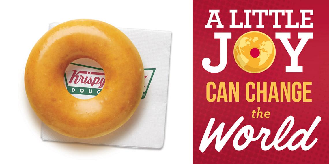 Donut on napkin and little joy.jpg