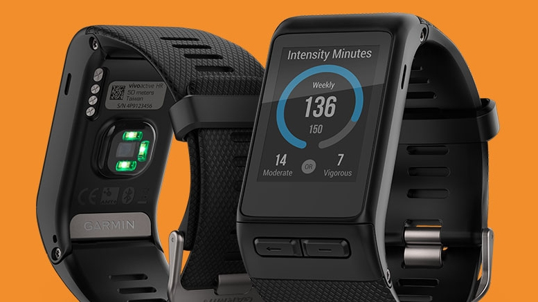 Garmin: GPS Smartwatch with Wrist-based Heart Rate