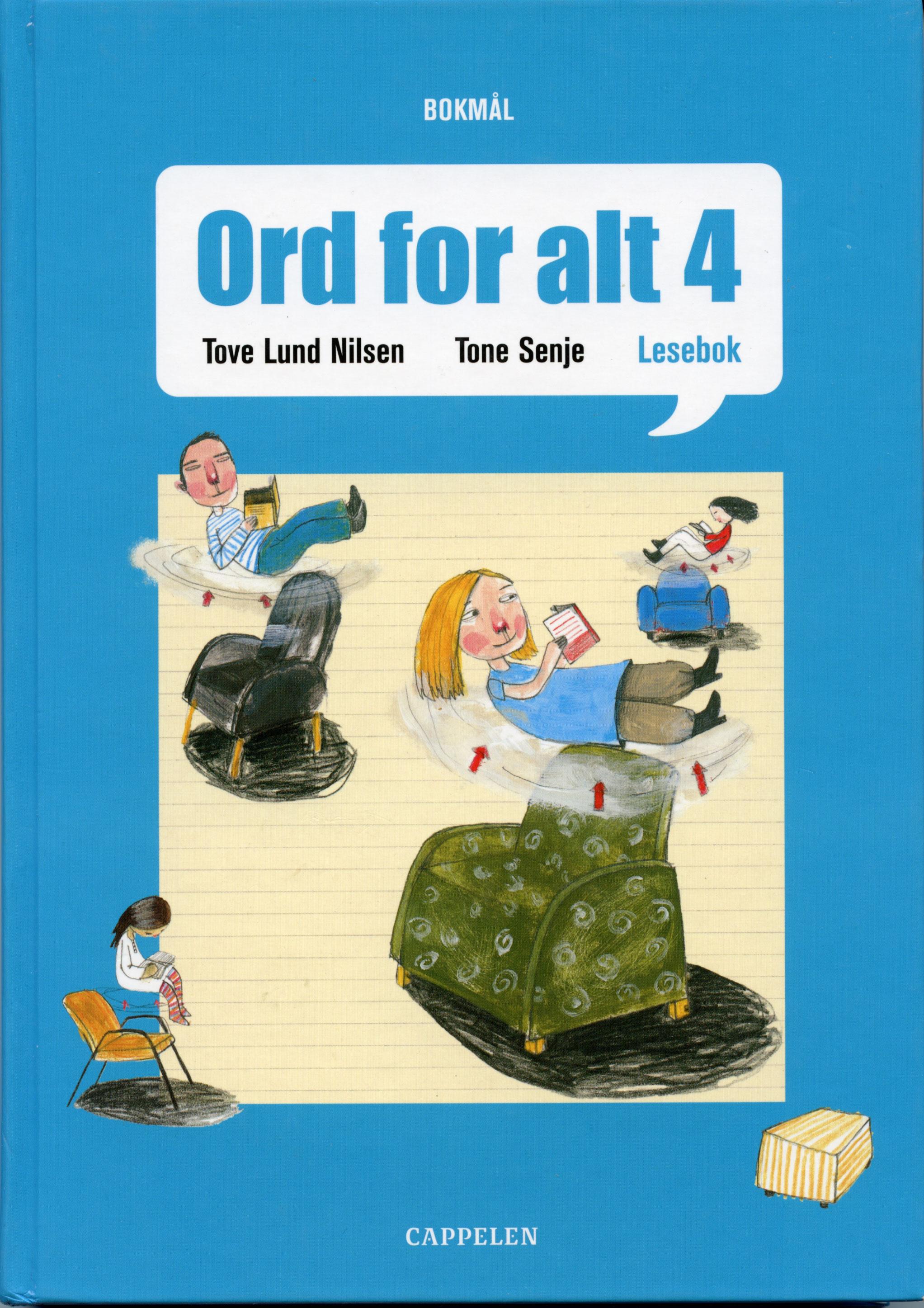 Undervisning /Norskverk Omslagsillustrasjon (hovedillustratør)  Cappelen Forlag