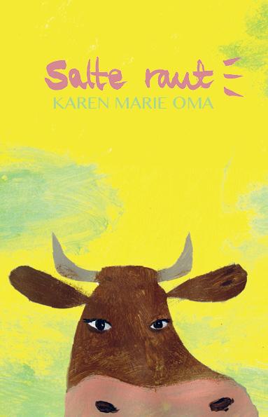 Illustrert poesi /Omslag og håndtekst  forf. Karen Marie Oma Publica bok 2014