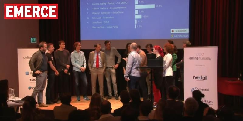 MySocialDatabase wins ''The floor is yours''
