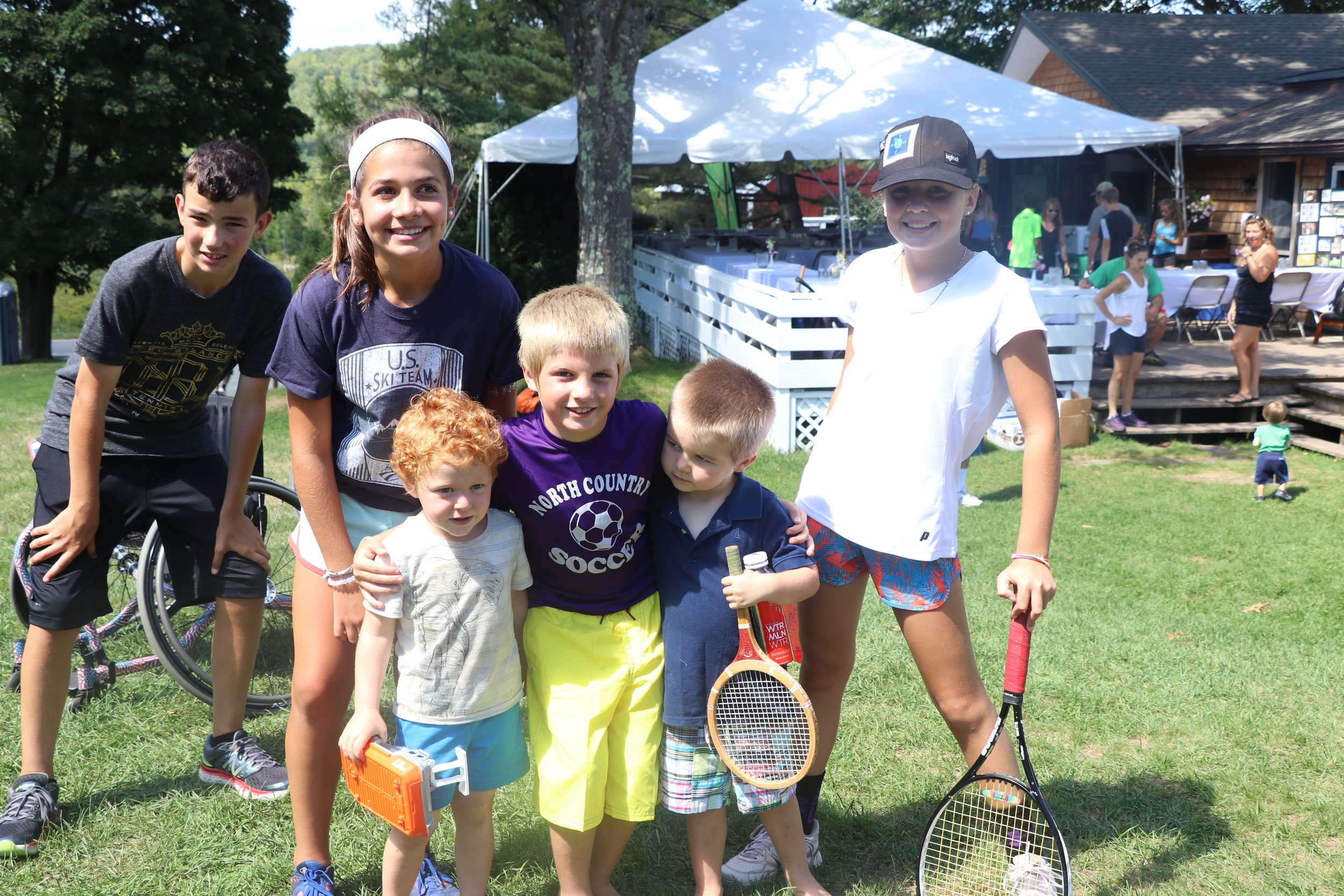 Dinner party charity event - Join us for some amazing food by Chef Joe and great company at Tamarack Tennis Camp. There will be live music and silent auction all for the benefit of our cause. This is a family friendly event!