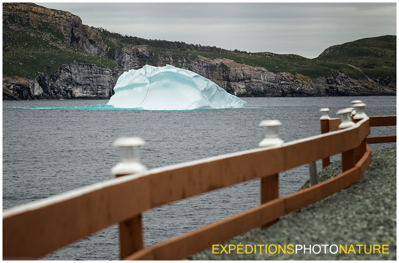 Le premier Iceberg (Photo Pierre Giard)