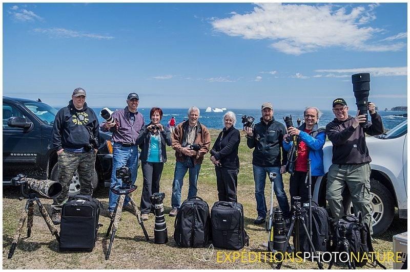 Photo d'équipe d'Expéditions Photo Nature 2014