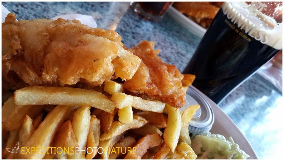 Dernier fish'n chips en ville