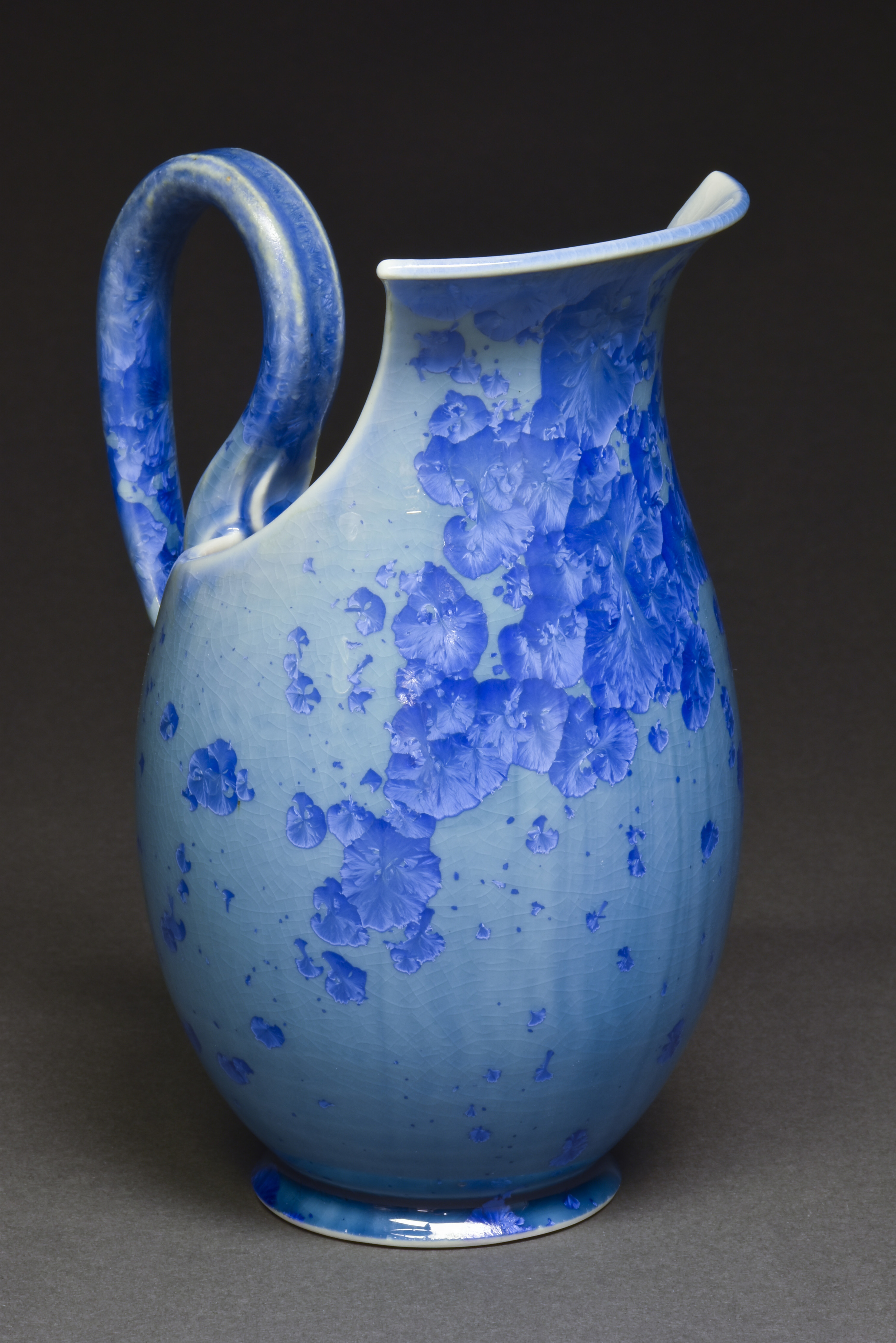 Crystalline Glazed Pitcher