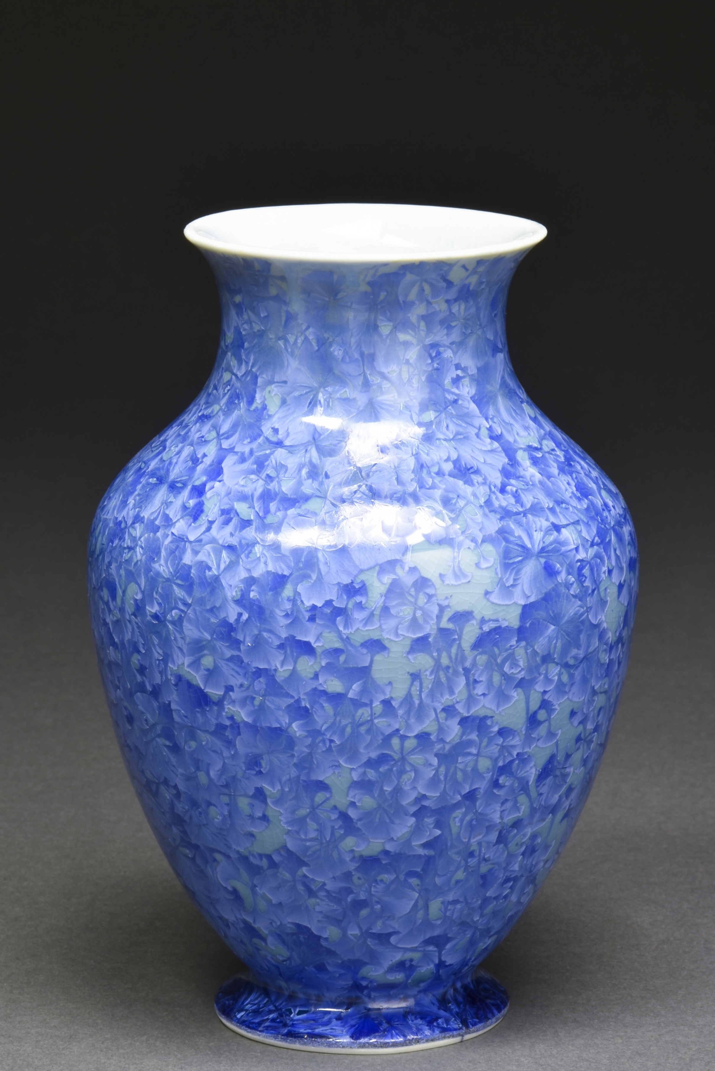 Crystalline Glazed Small Vase