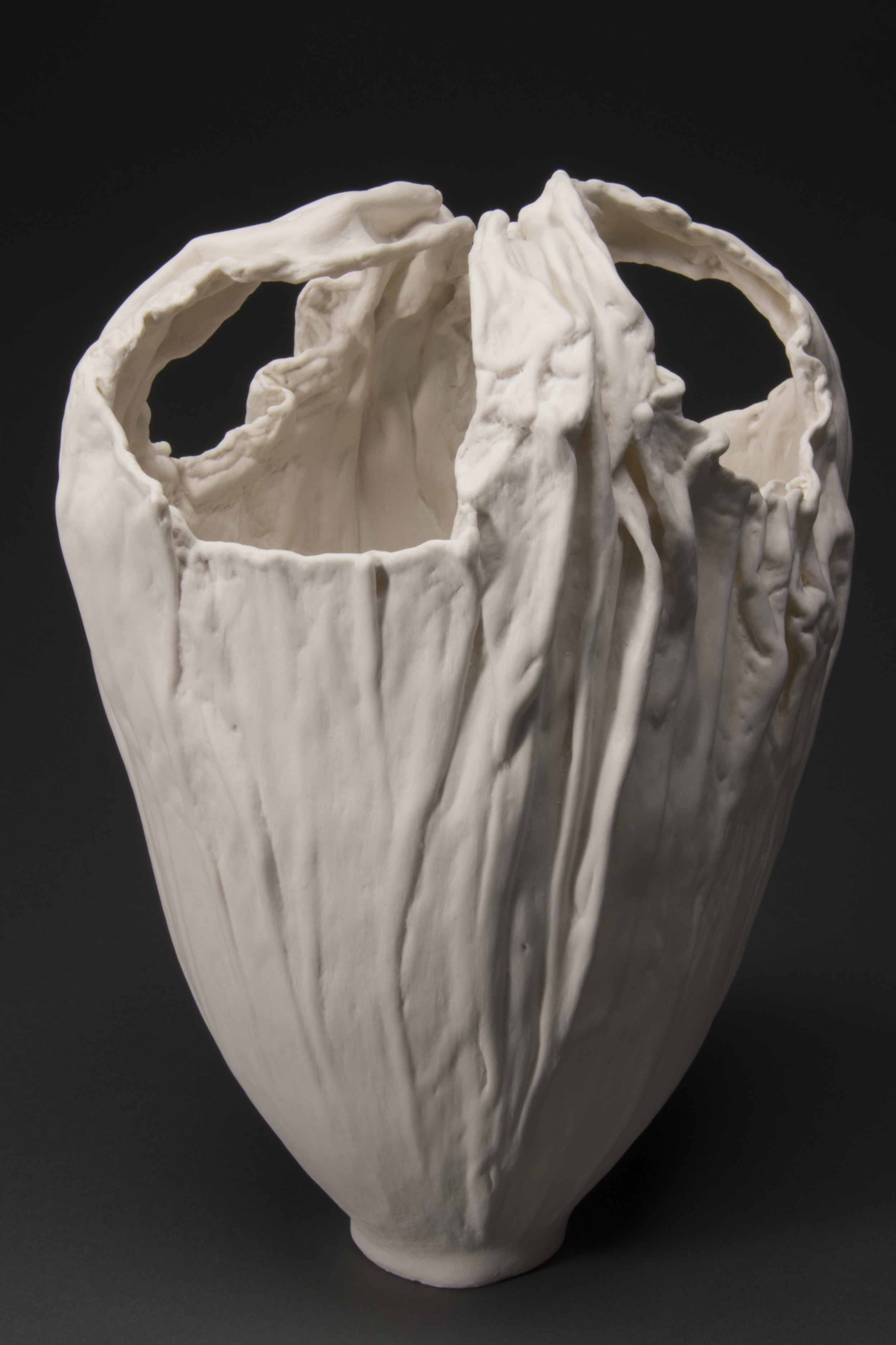 Faux-Alabaster Bag Form