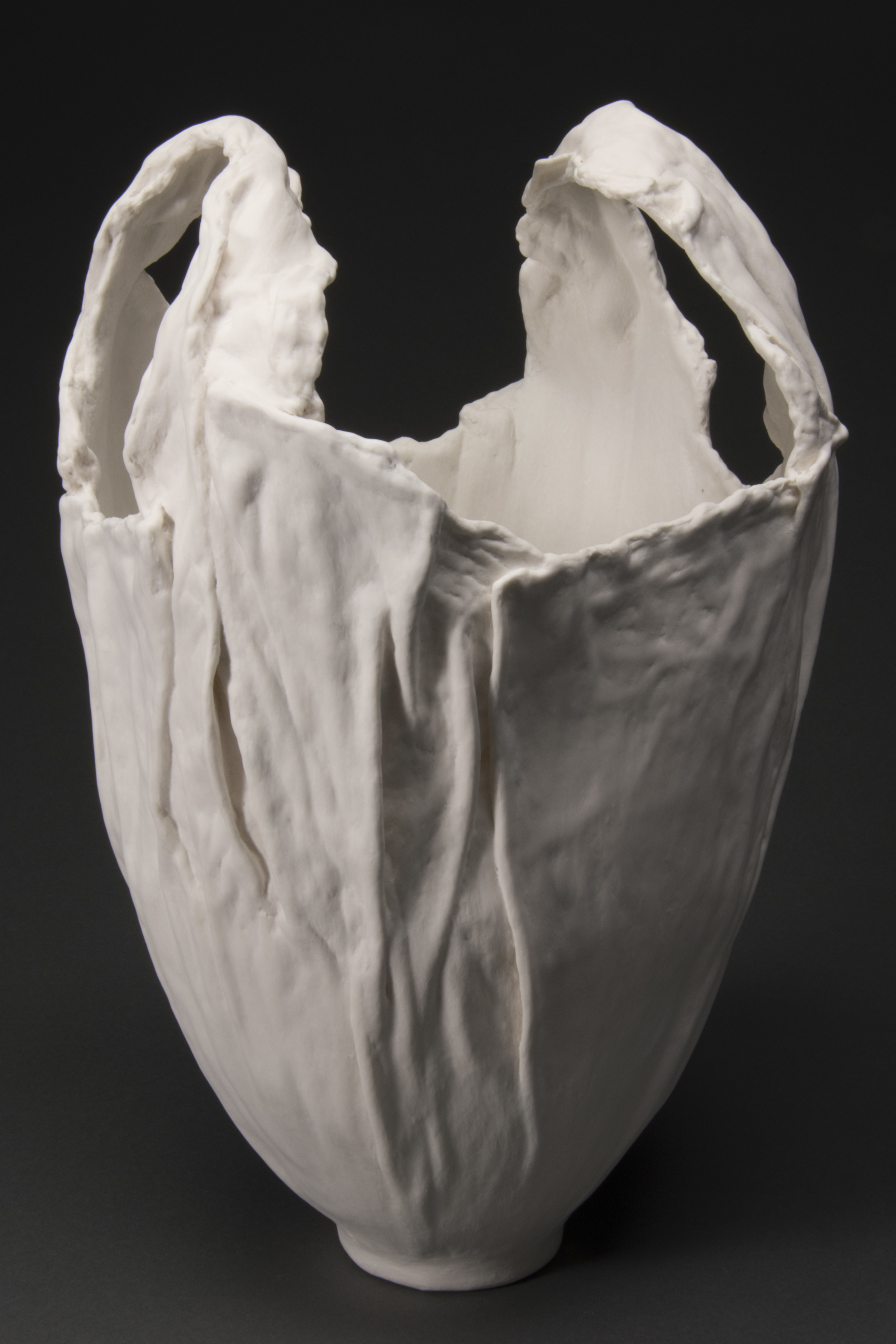 Faux-Marble Bag Form