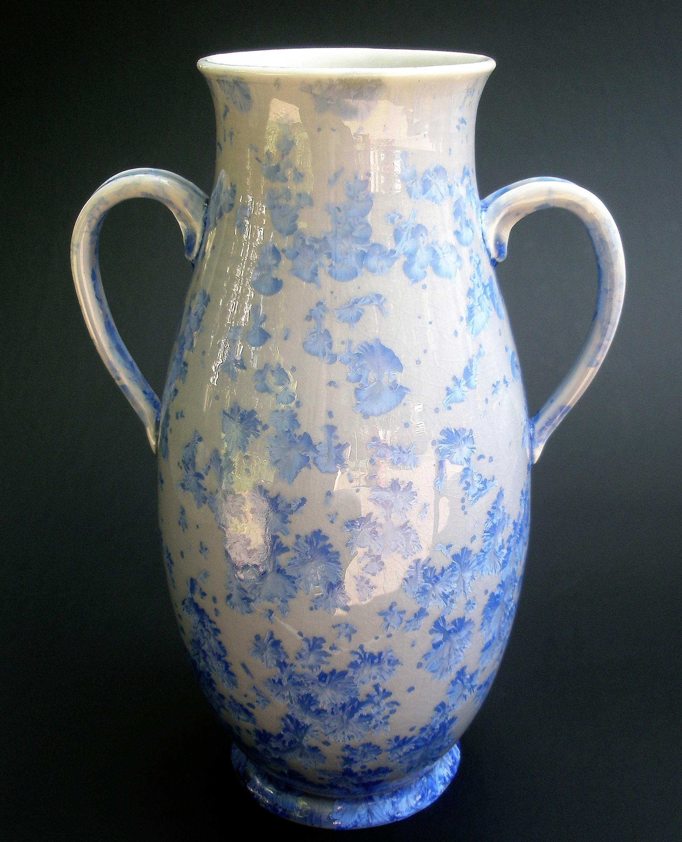 Crystalline Glazed Amphora