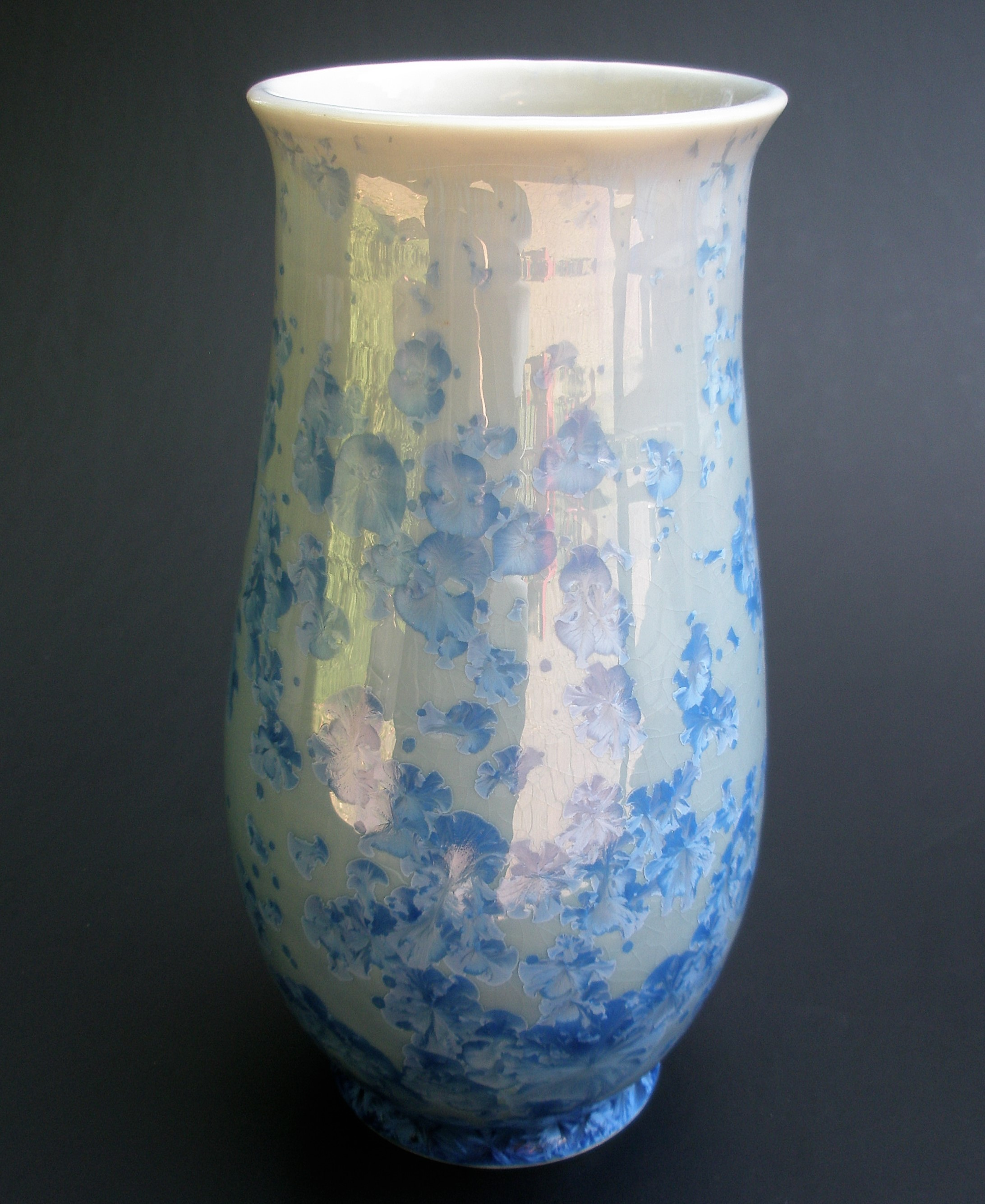 Small Crystalline Glazed Vase