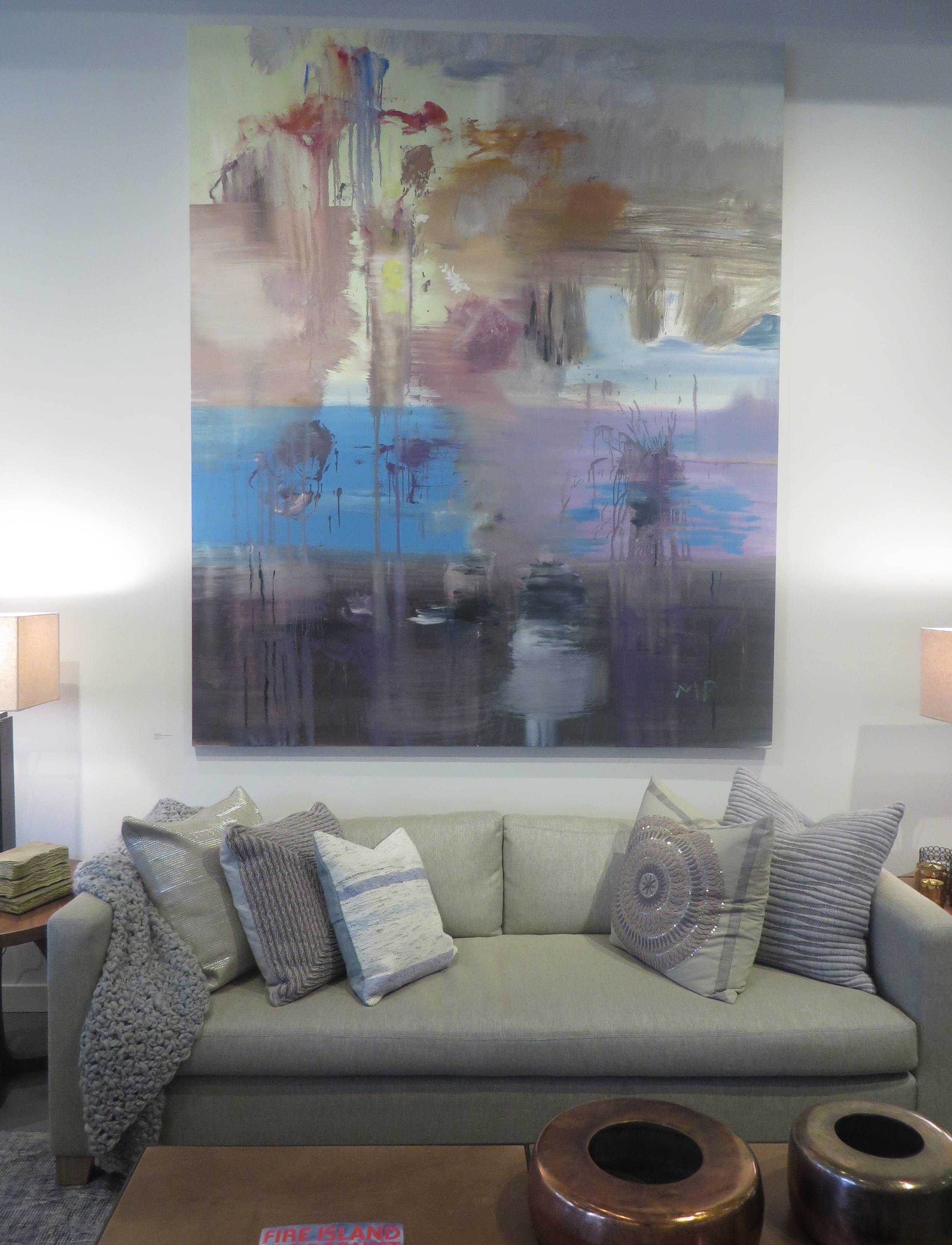 Deconstructed Landscape, 2014, Installed at Elizabeth Dow Home, 2015