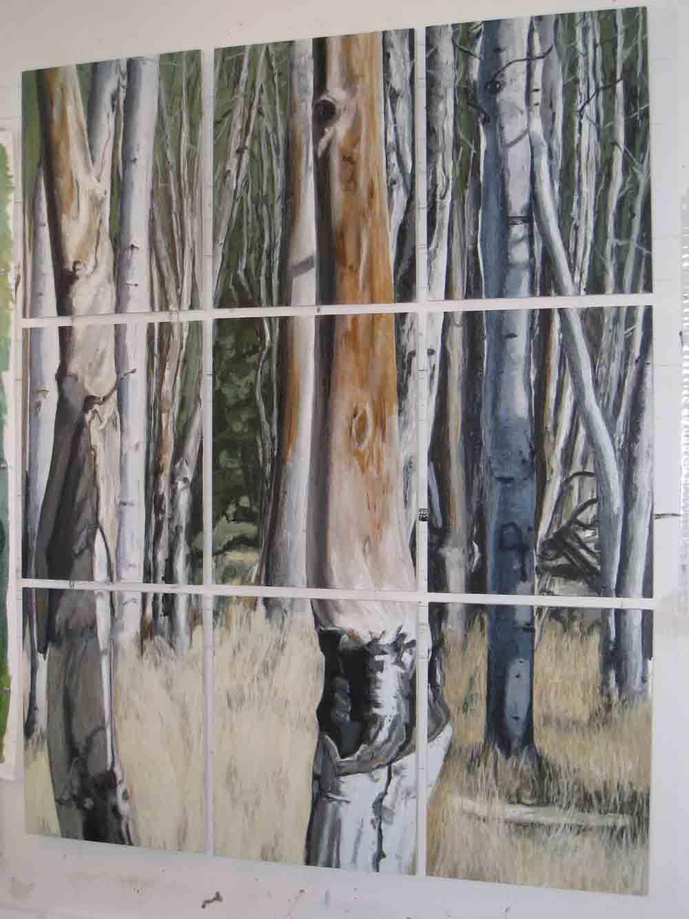Birch Forest, 2007