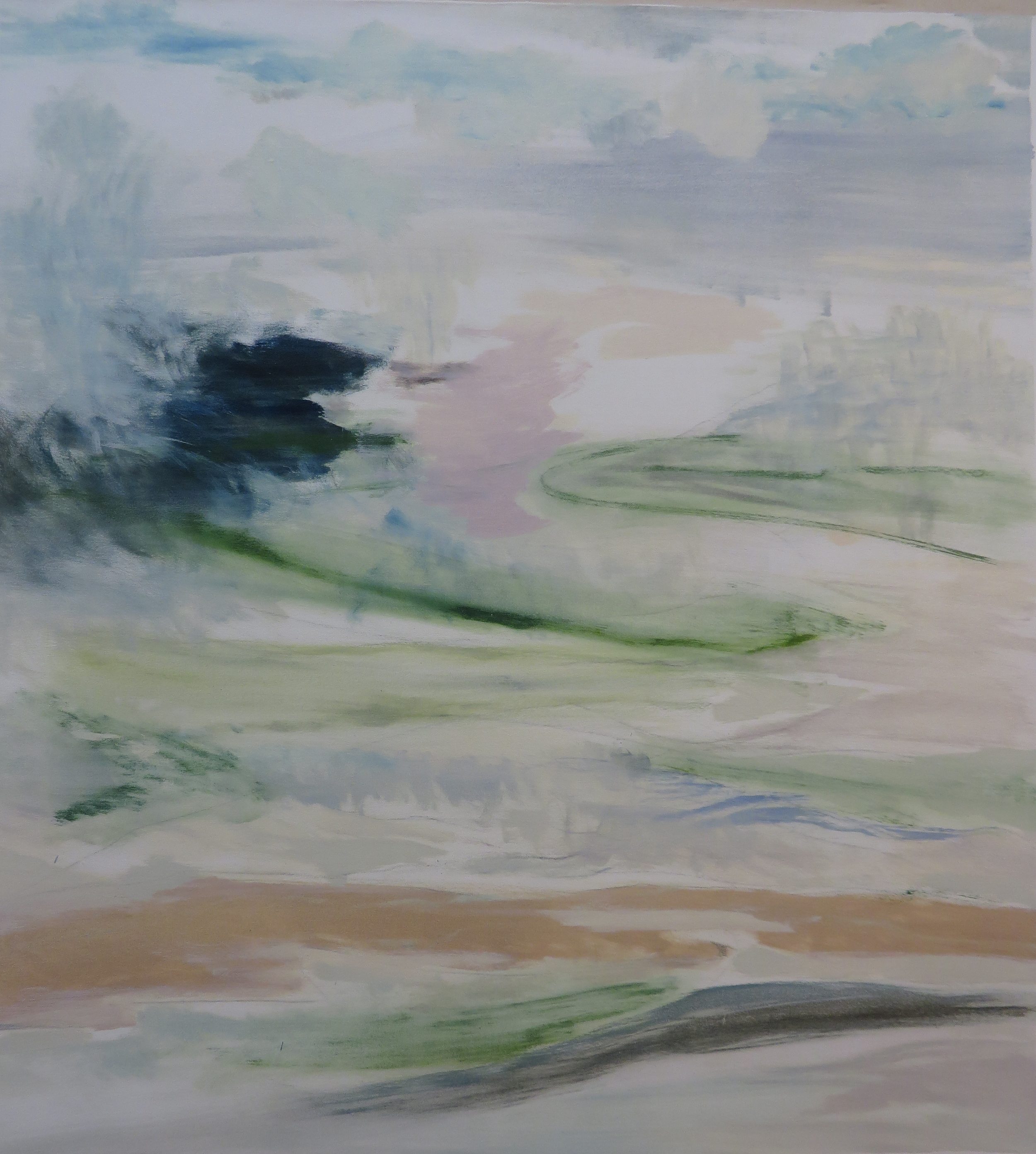 Abstract Landscape, The Hills