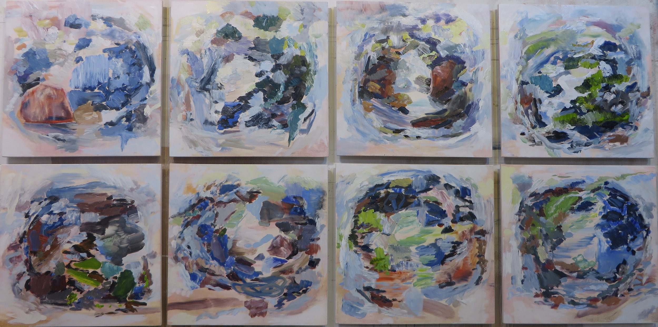 Earth Series 1 - 8, 2014