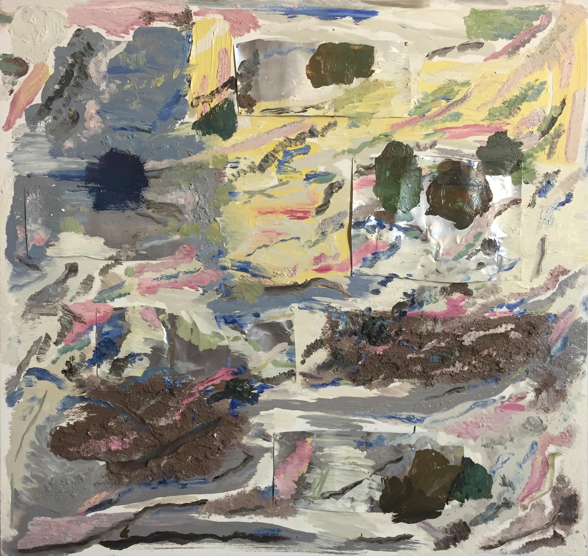 abstract, brick, cream, 2014