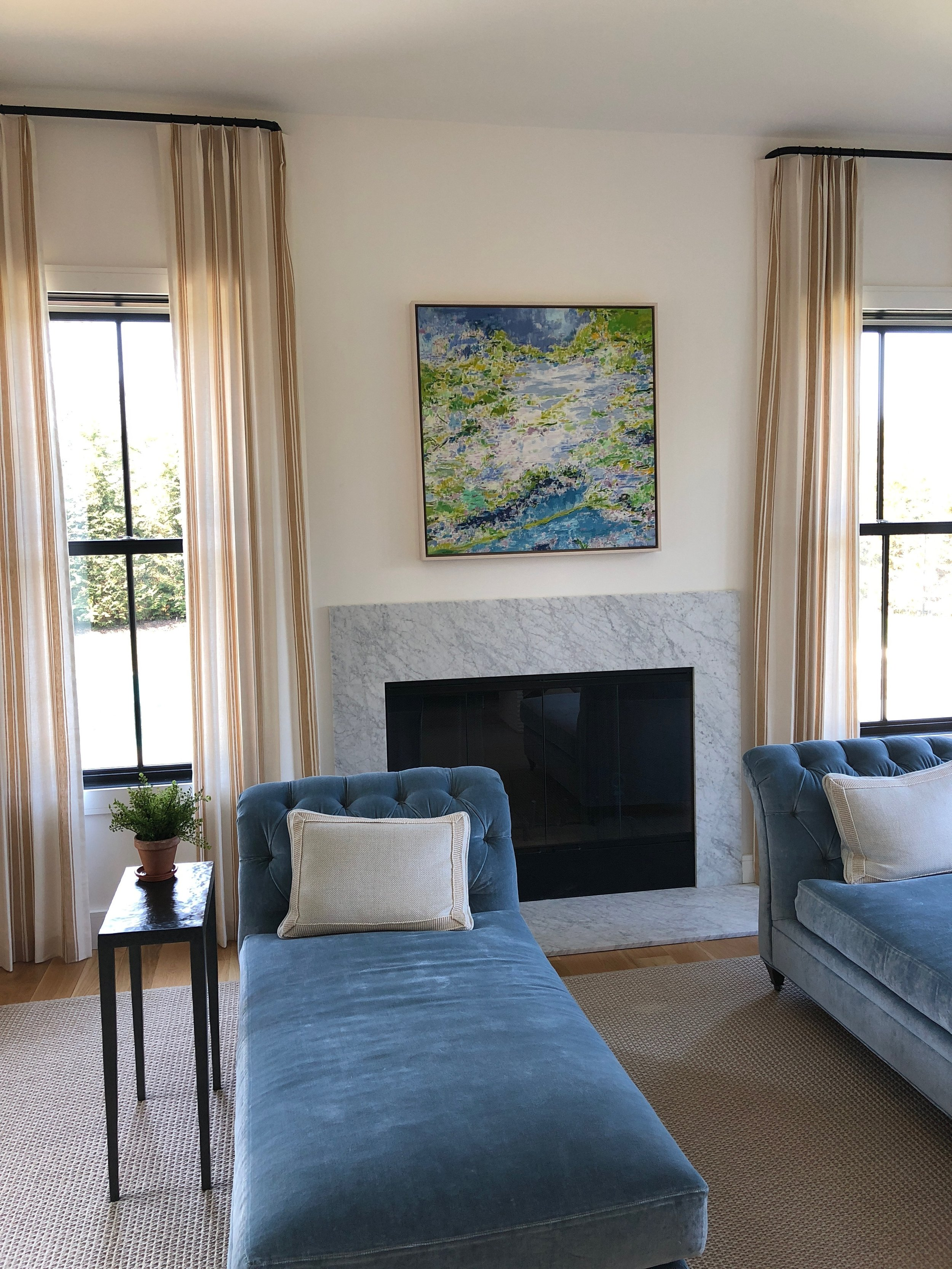 Earth Green Water Blue 2, 2017, Private Residence