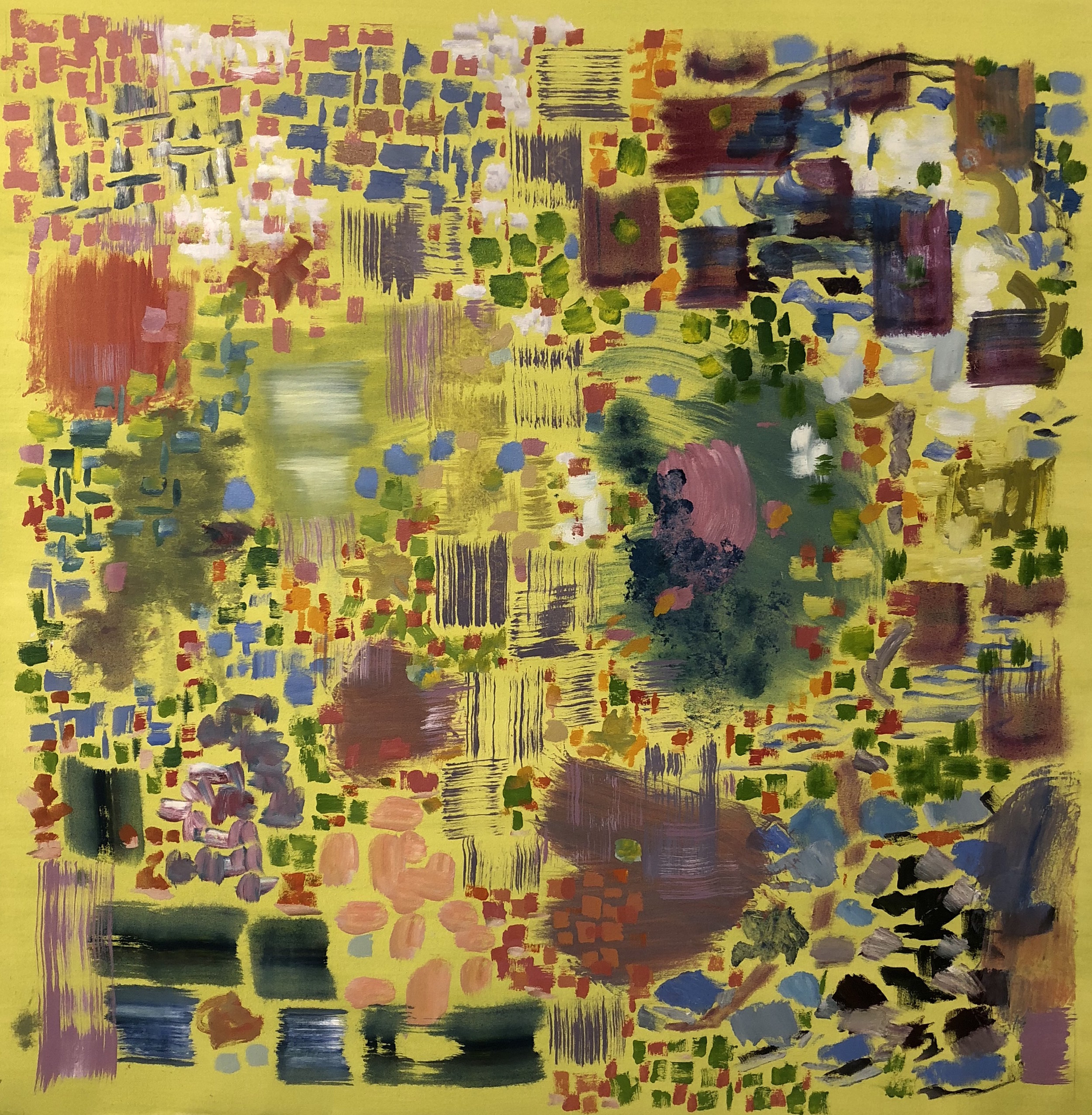 Abstract, Yellow, 2018
