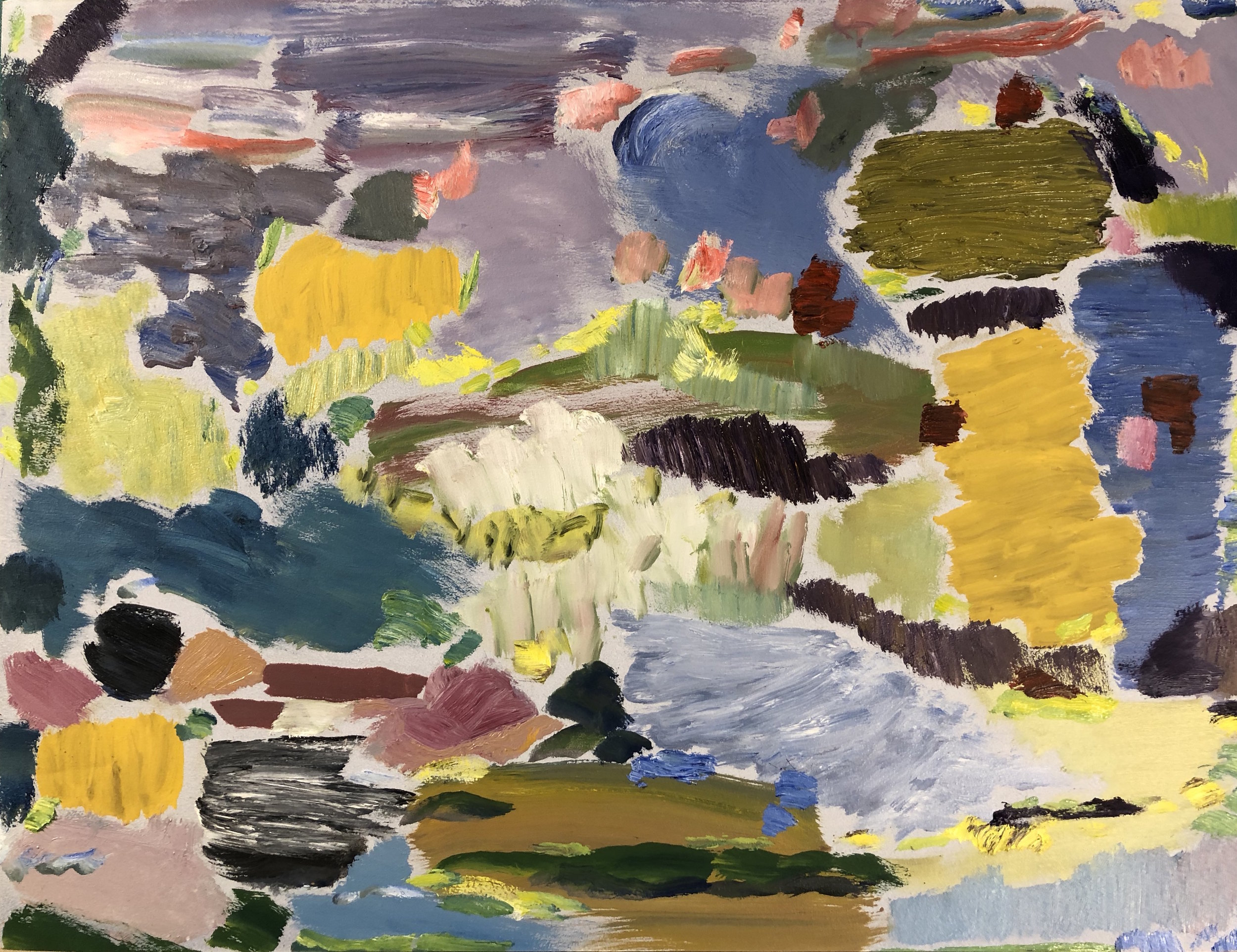 Landscape, Lakes & Fields, 2018