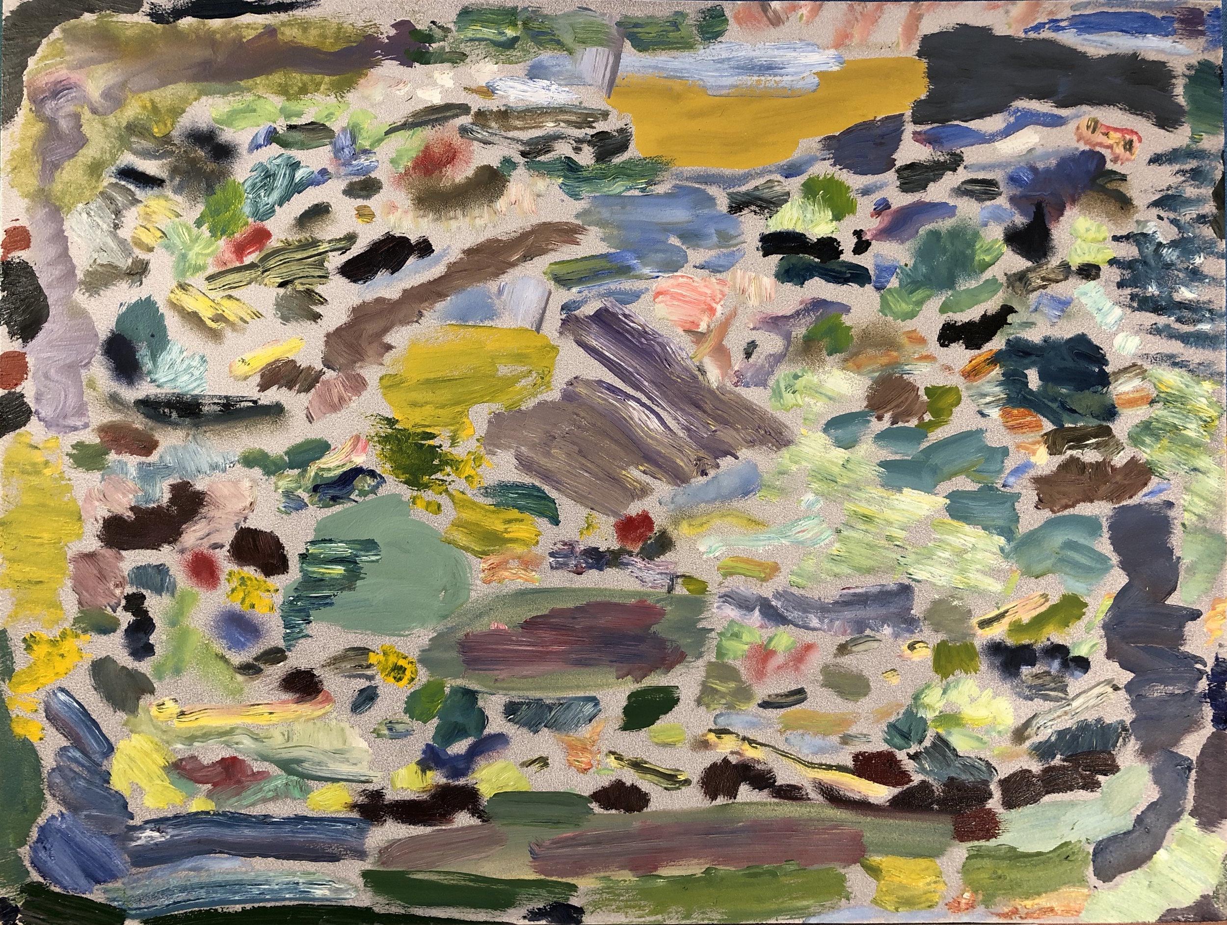 Landscape, Aerial 2, 2018