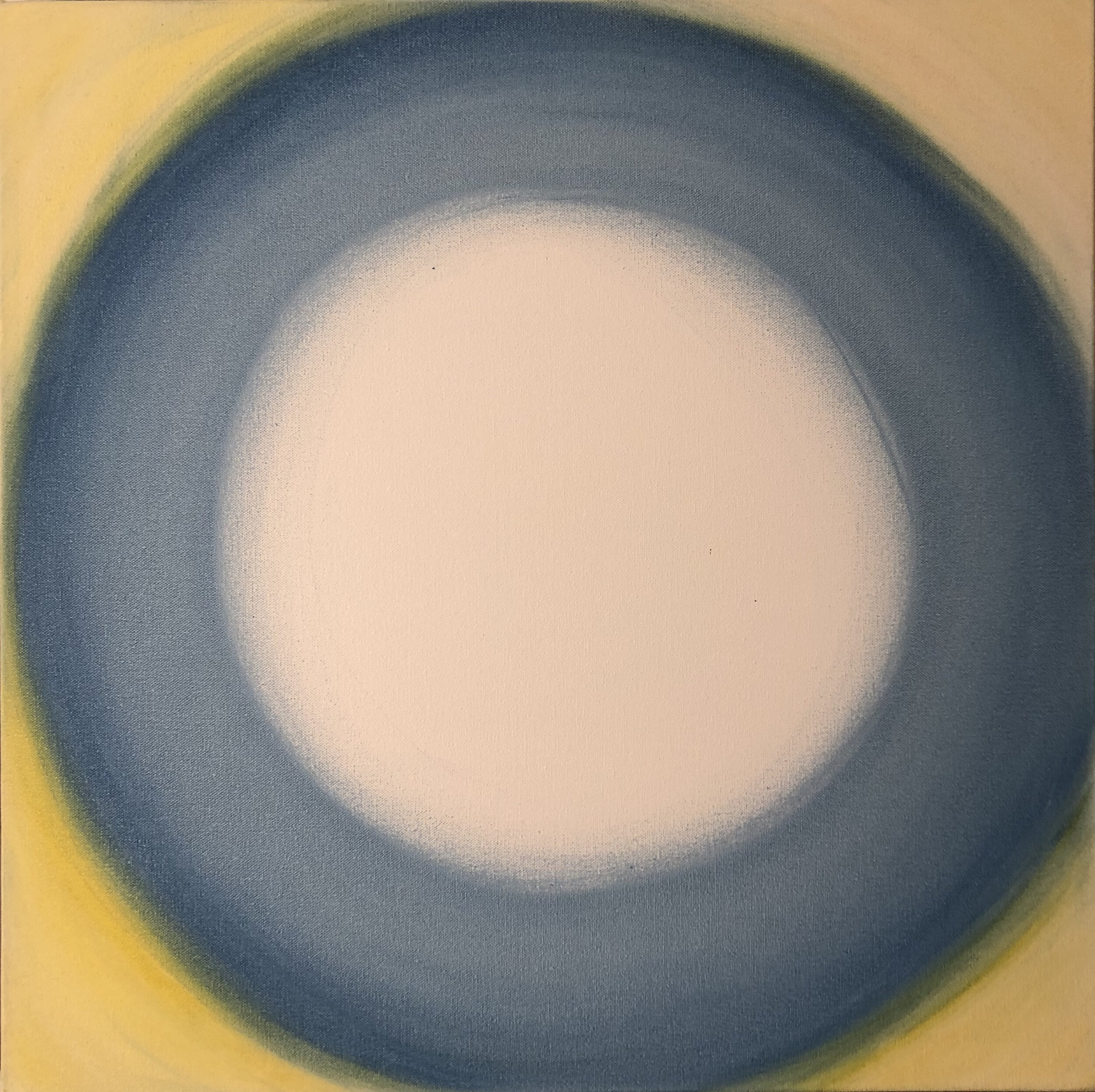 Composition Pale Yellow Blue, 2019