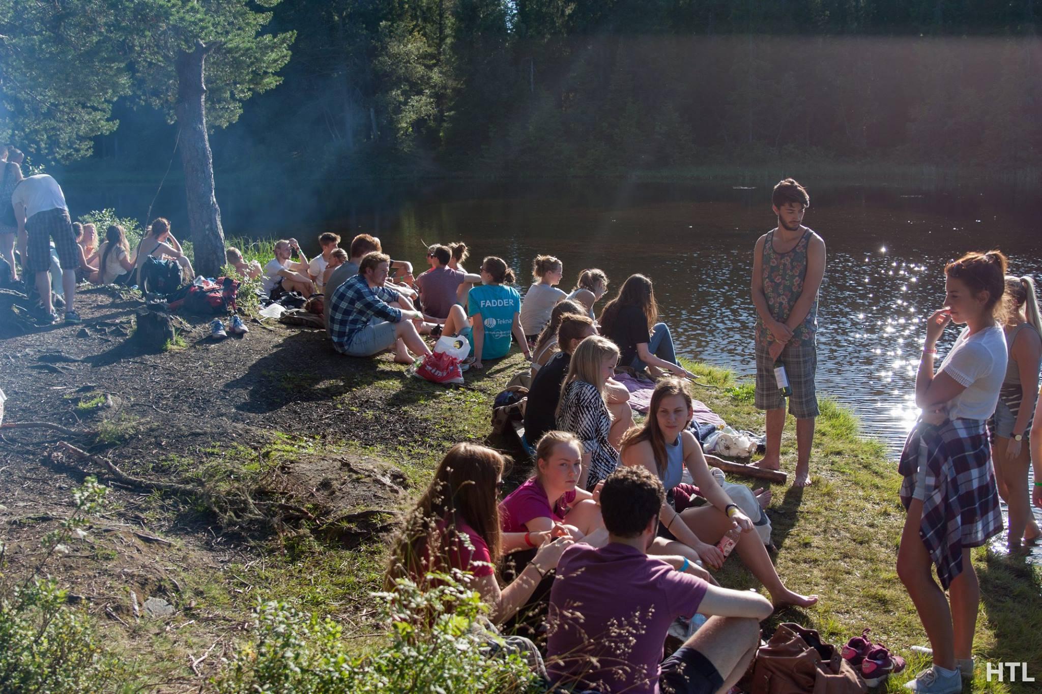 Faddertur med trollkom. Foto: Håvard takle lindholm