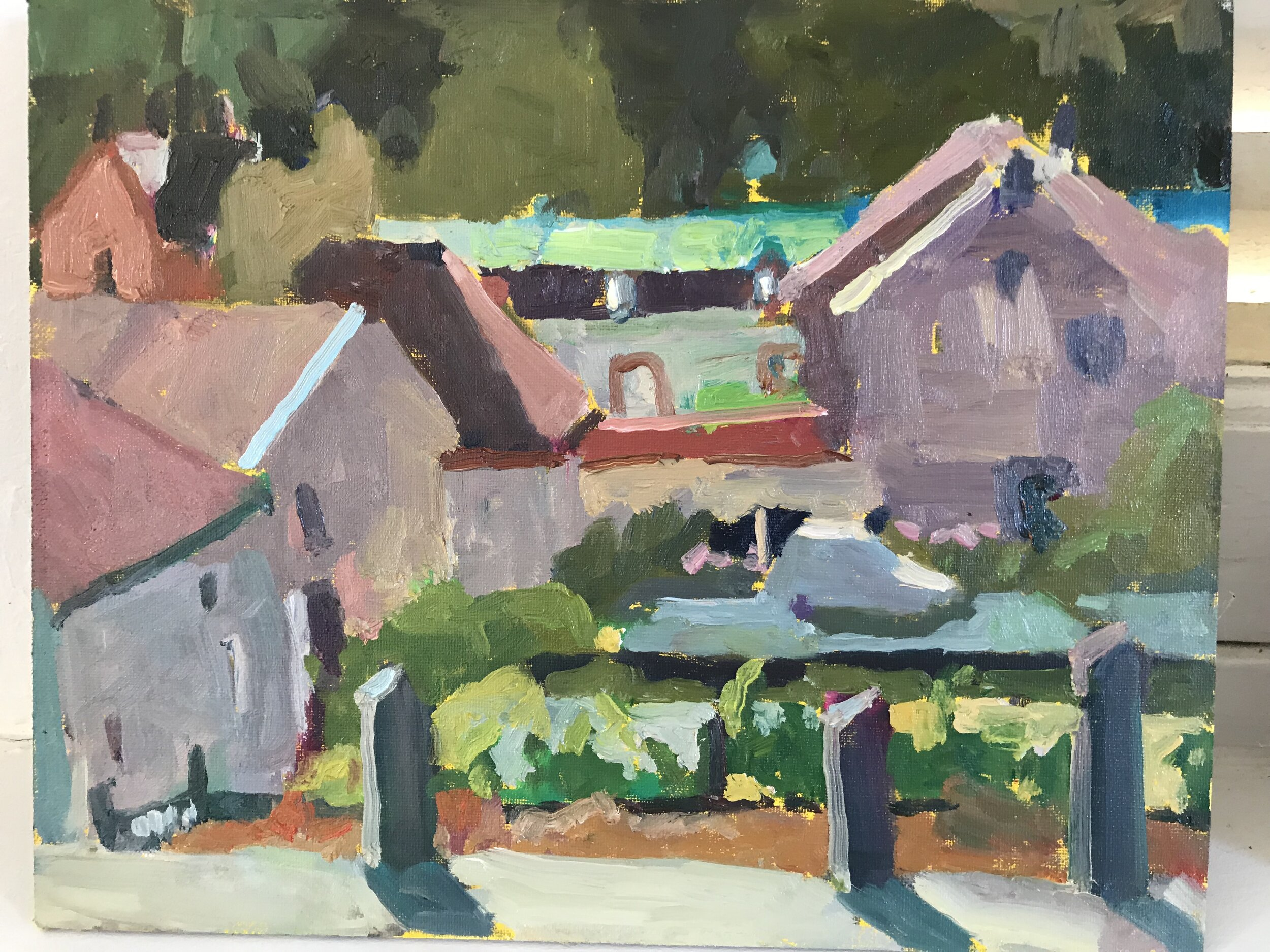 "Orquevaux, France, 8 x 10"""