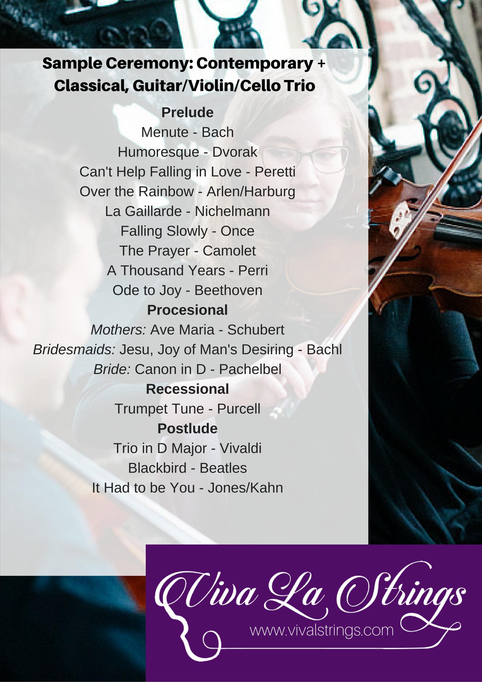 Contemporary + Classica, Guitar:Violin:Cello Trio.png