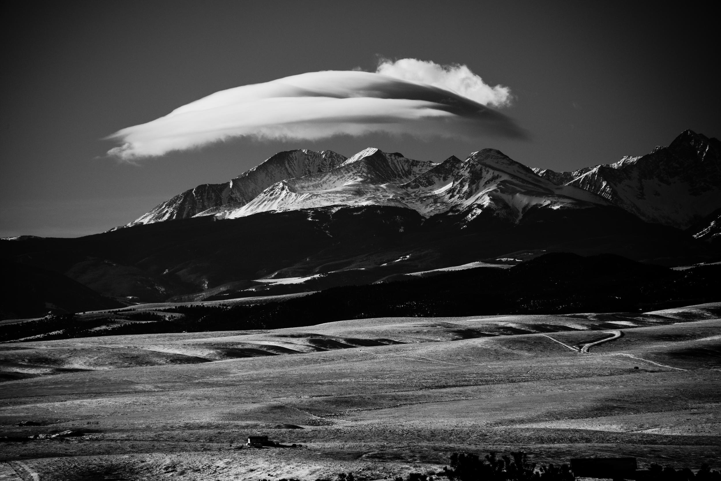 Cloud over Mounatins