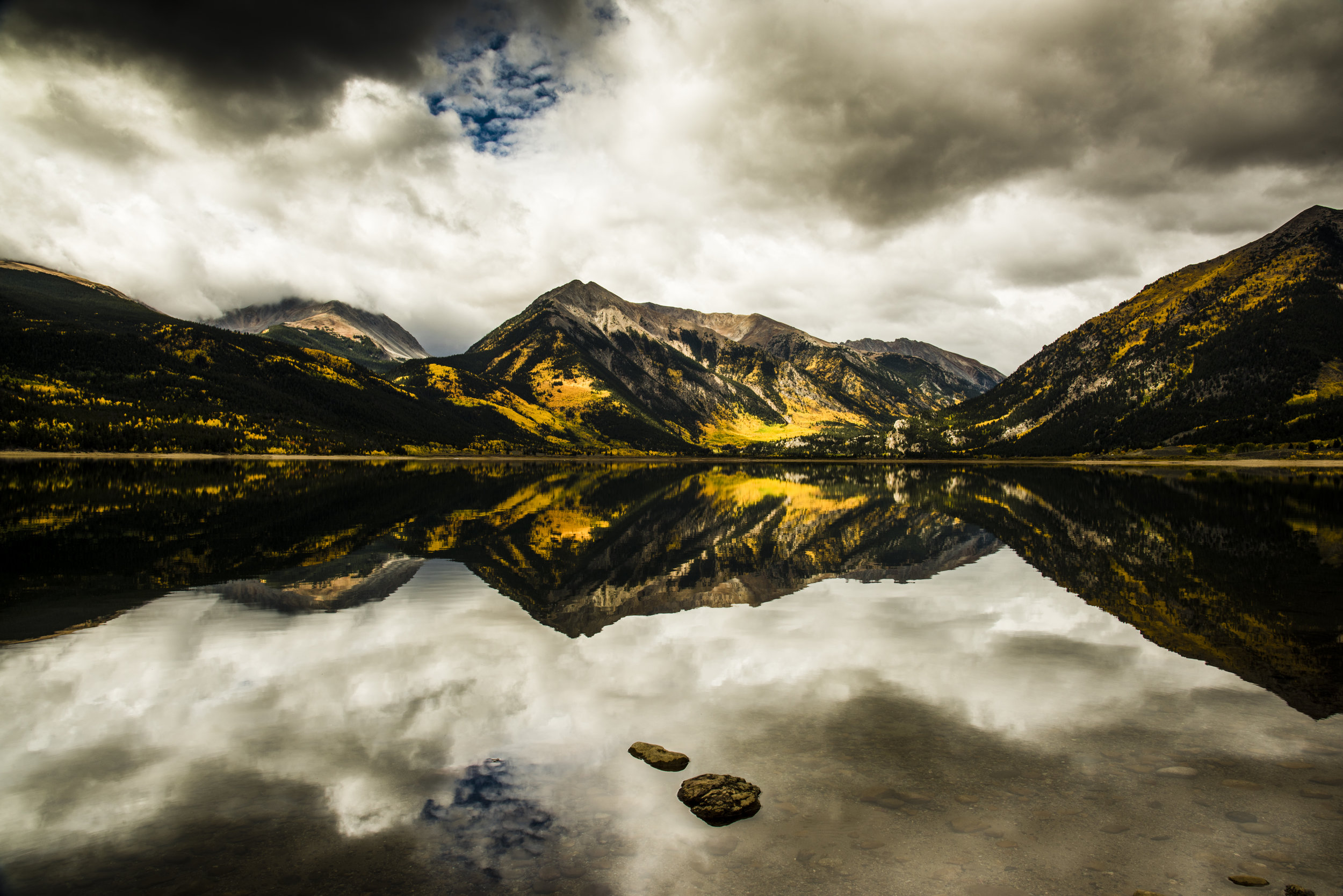 Twin Lakes Reflection I