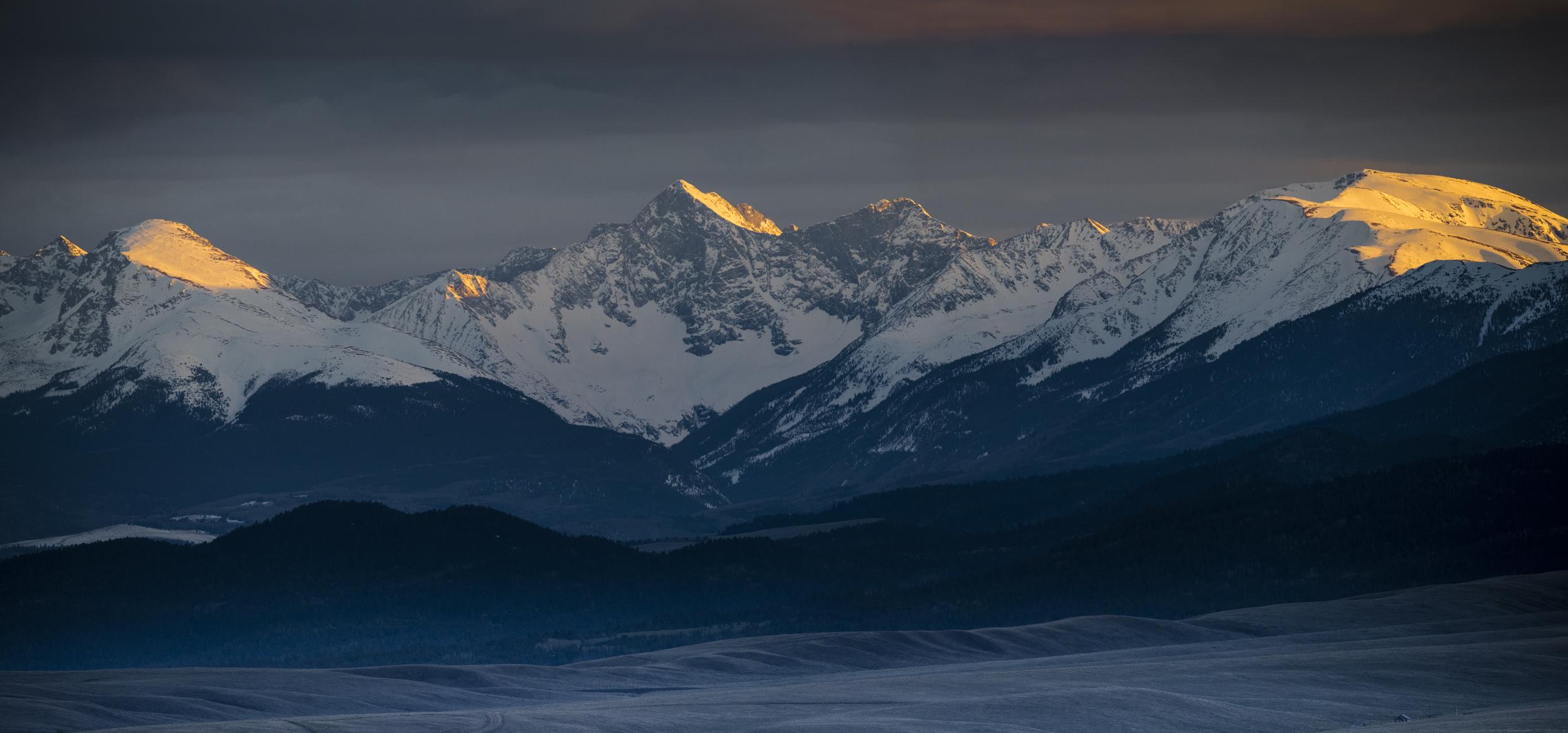Rocky Mountain Sunset at Blanca Massif