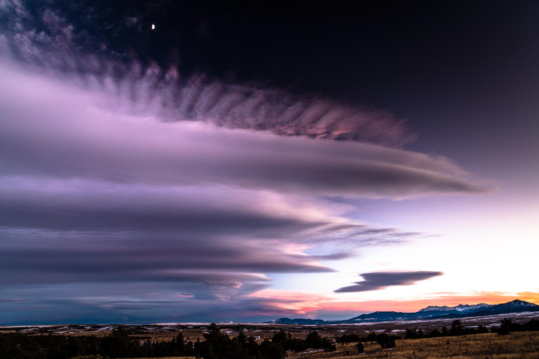 Alien Sunset Cloud