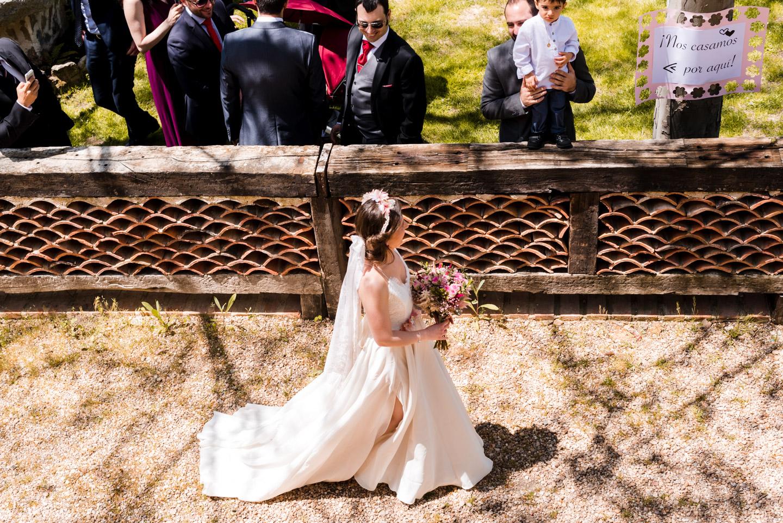 entrata della sposa agriturismo