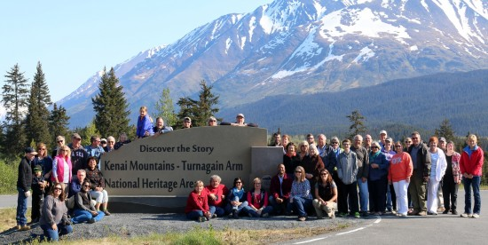 Dr. Rolando Herts, director of the Delta Center for Culture and Learning and the Mississippi Delta National Heritage area, joined fellow members of the Alliance of National Heritage Areas at their Spring Meeting in Alaska.