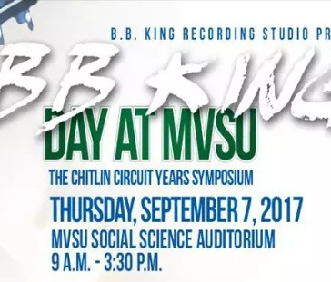 Mississippi Valley State University: 2nd Annual B.B.King Day Symposium