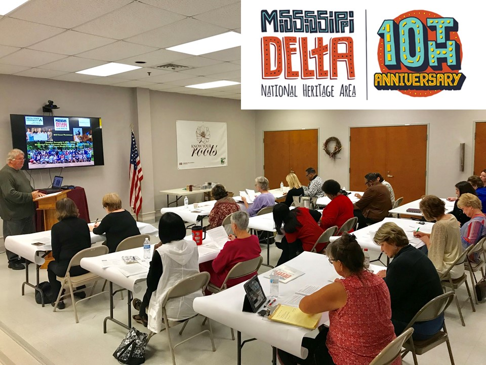 MDNHA grant workshop at Mississippi State Extension Service, Warren County, Vicksburg.  Photo credit: The Delta Center/Rolando Herts