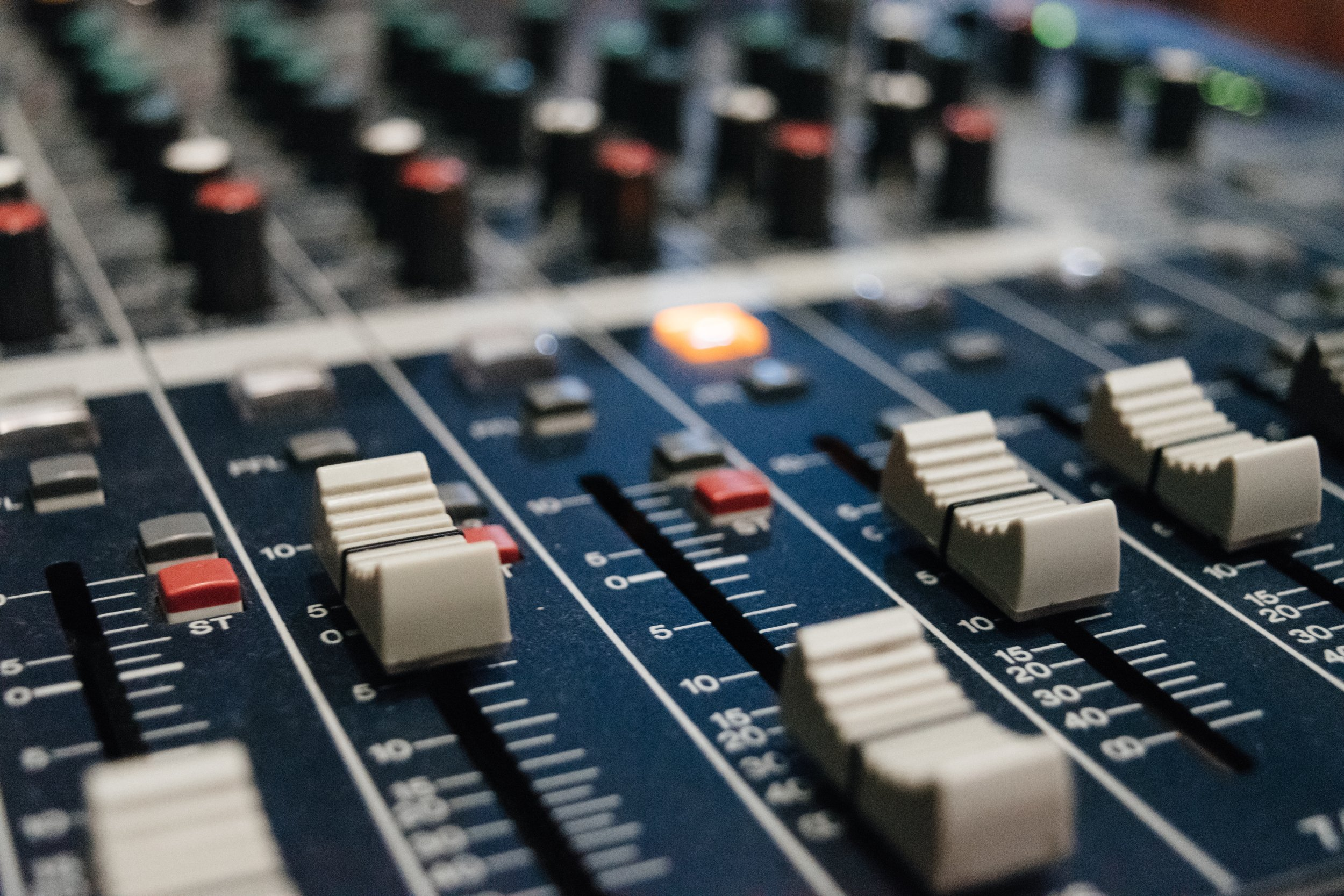 some faders