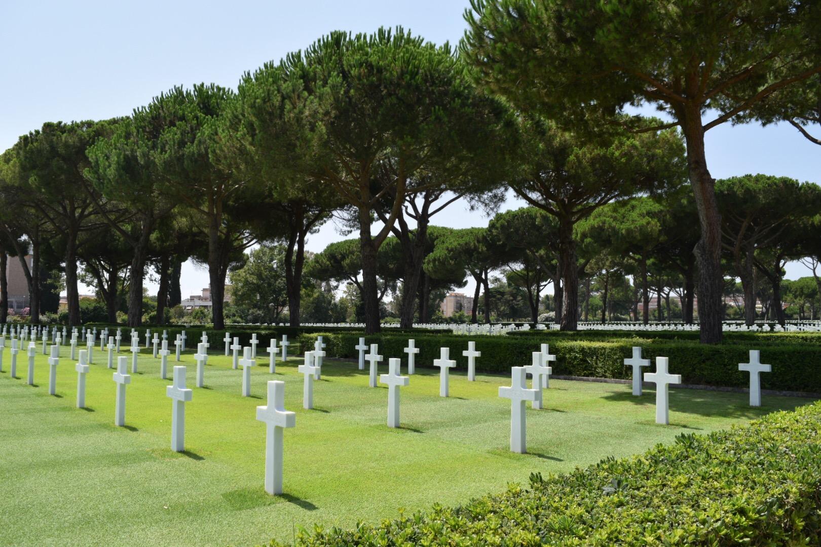 Day 2:  Sicily-American WW2 Cemetery and Museum