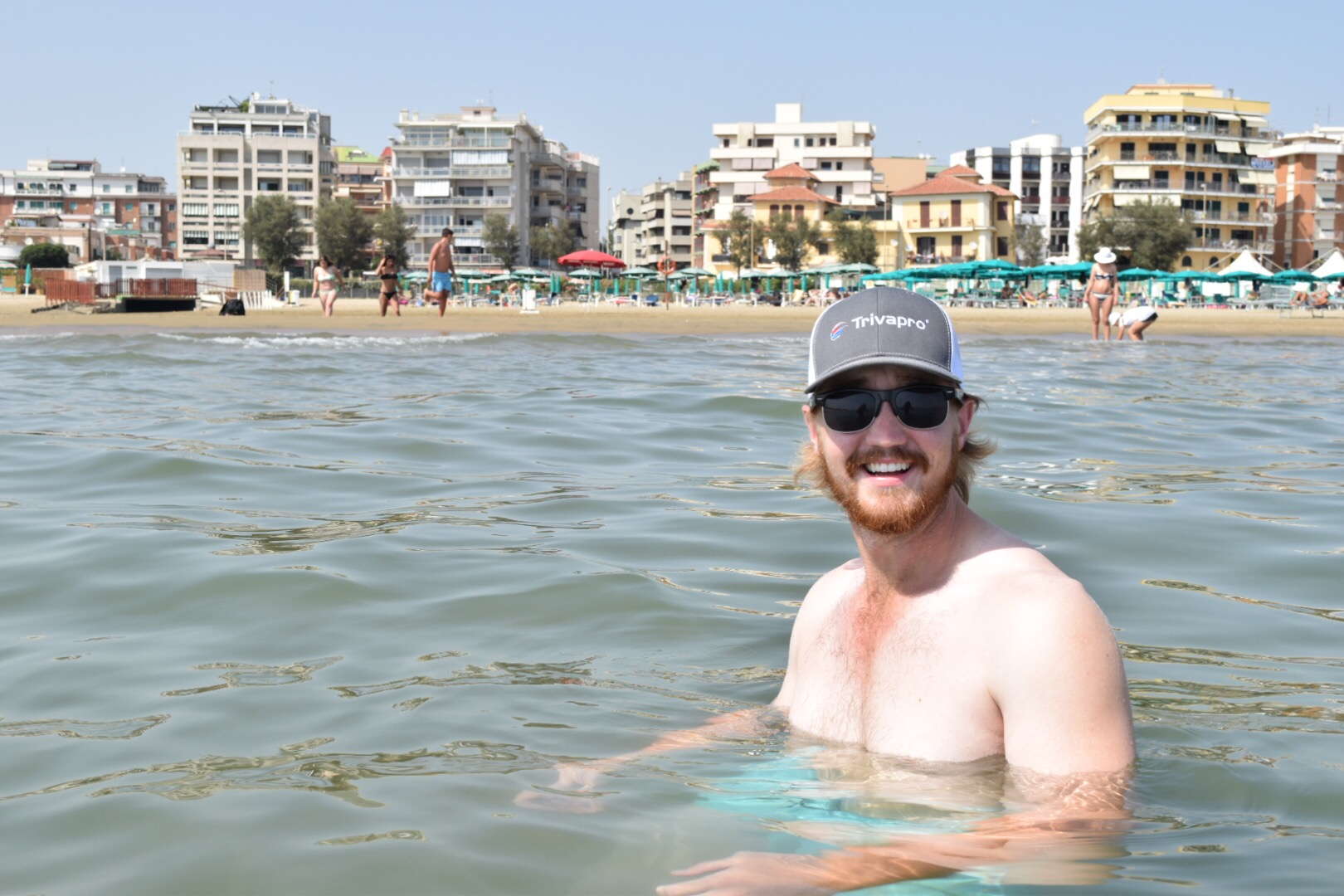Day 2:  Nettuno Beach with the Natives
