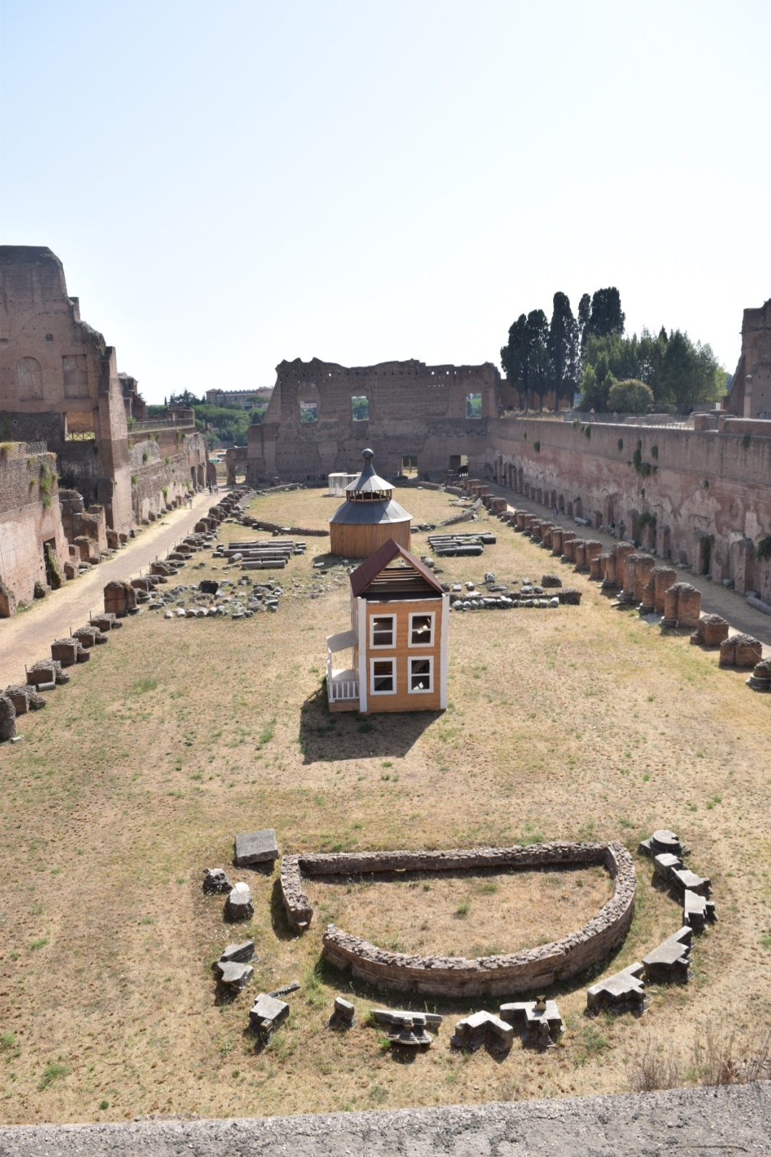 Day 3:  Ancient Roman Ruins on Palatine Hill
