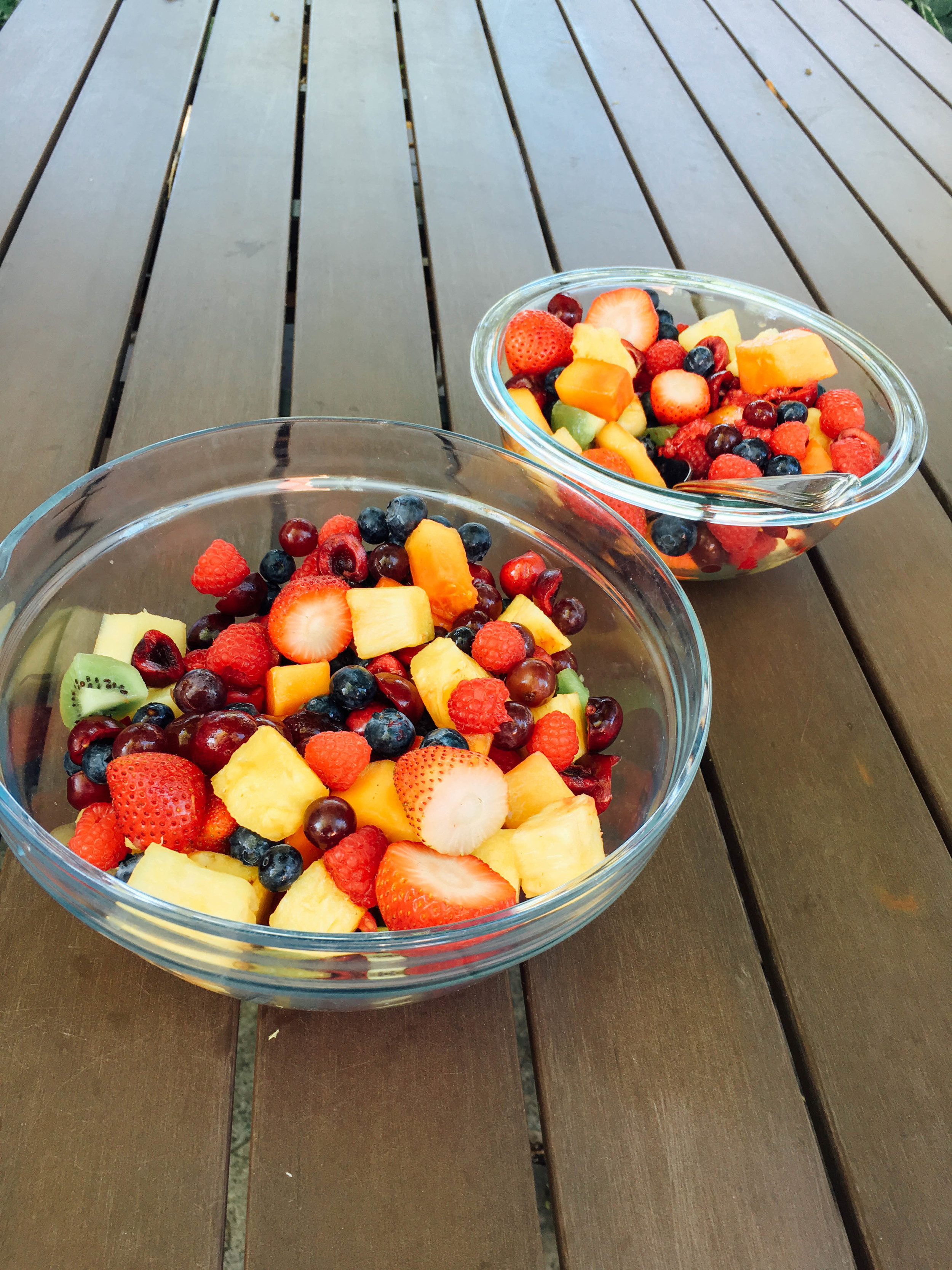 fruit salad kids can make