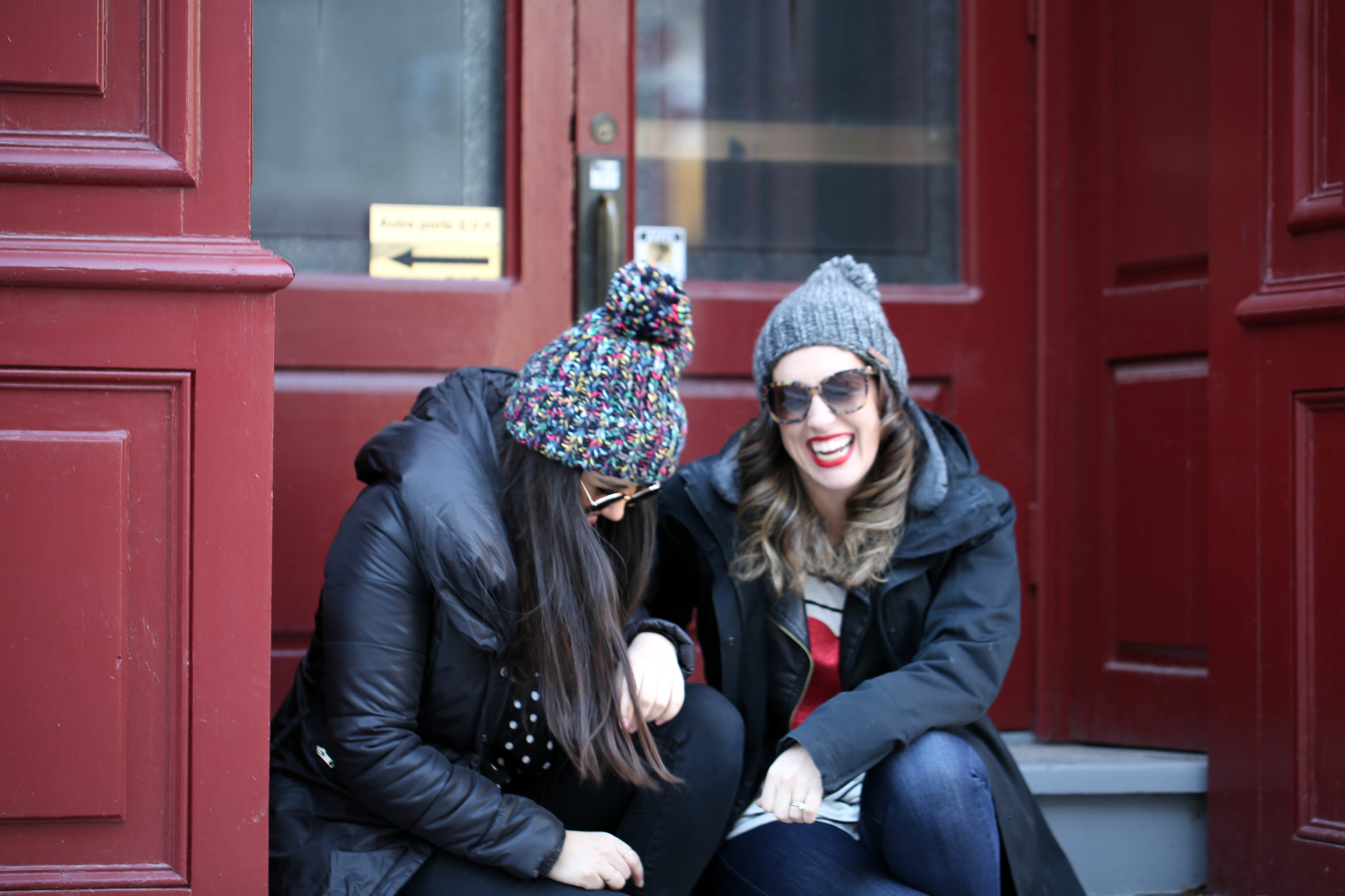 mom, style, girlfriends, winter style, womens style, mom fashion, keeping your style, mommy fashion,