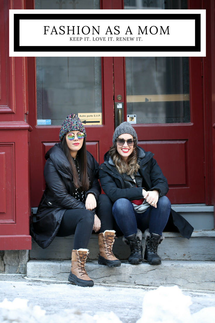 winter fashion, mom, style, girlfriends, winter style, keeping your style, finding your style, fashion as a mom, style as a mom, mommy fashion, hip style for moms,