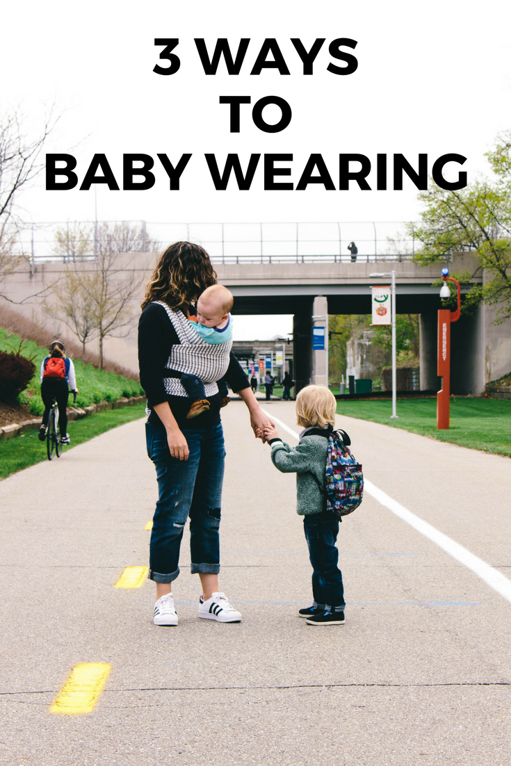 baby wearing tips and tricks