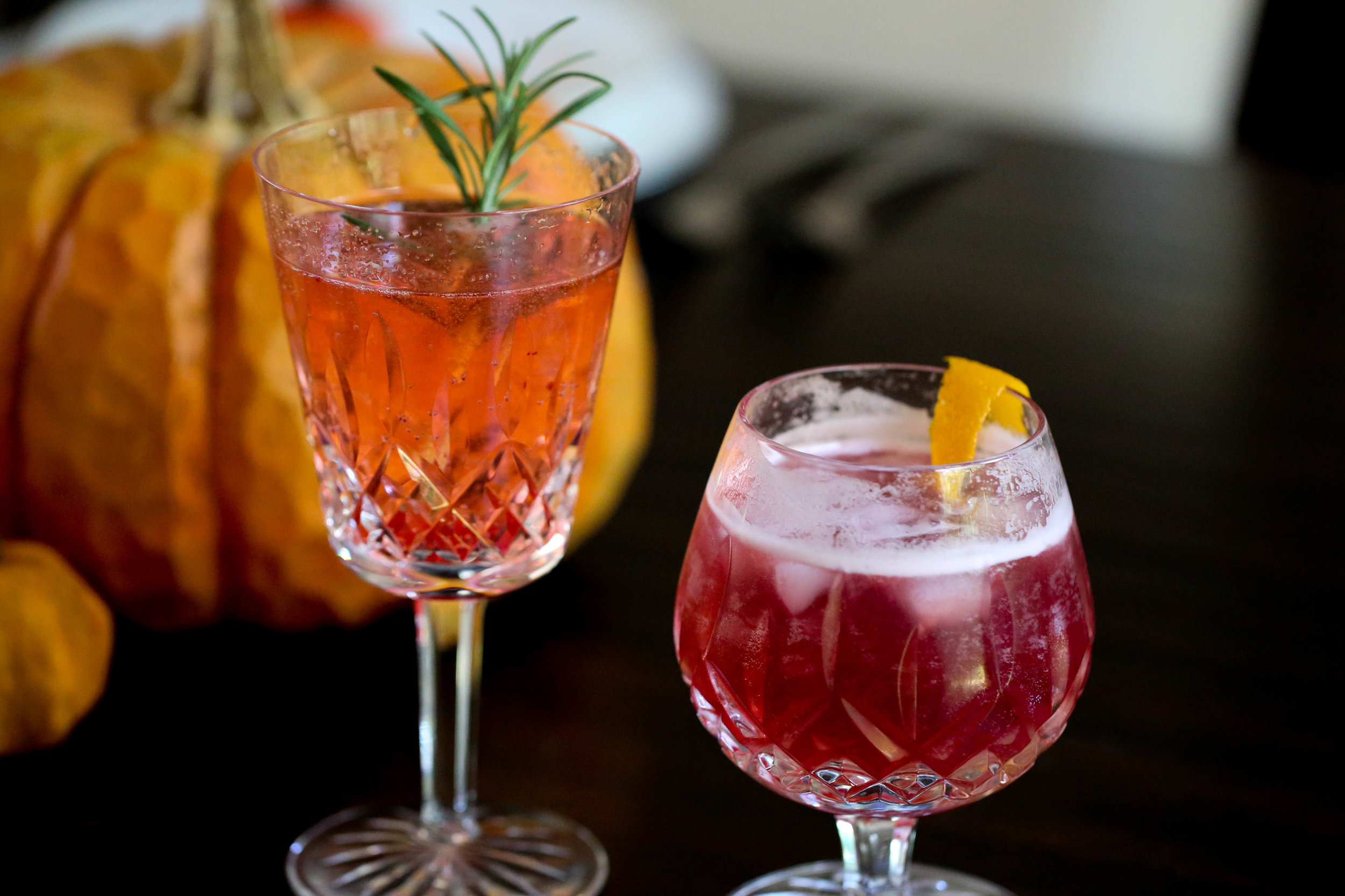 his and hers thanksgiving cocktails recipe