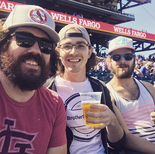 Great to catch a day game!  We'll be right around the corner from Coors on Saturday, raging in the streets, for the @woodsbossbrewing block party. We perform from 8-10, and the show is FREE!  #keithlovesthecards #daygame #woodsbossbrewingblockparty