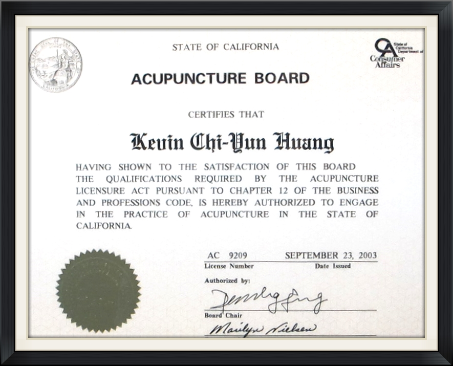 Acupuncture Dr. Huang